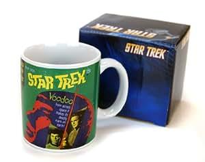 STAR TREK Tasse Kaffeetasse Sammeltasse Raumschiff Enterprise VOODOO Mug