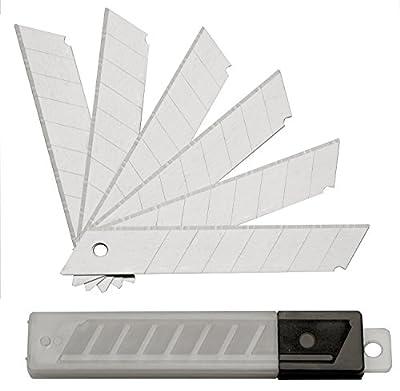 200 Abbrechklingen 18 mm 0,5 mm für Cuttermesser, Ersatzklingen, eisgehärtet von SBS - TapetenShop