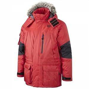 Bear Grylls Men's Polar Jacket - Bear Red/Black, Small