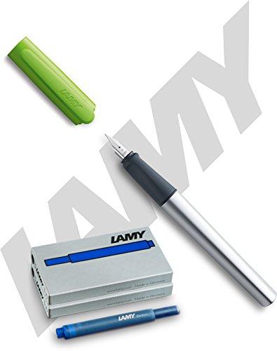 Lamy -Füllfederhalter Nexx, Feder: A (Füllhalter + Patronen, lime)