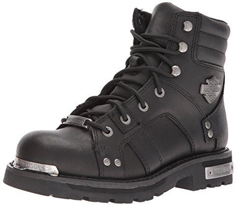 Harley Davidson Herren Bonfield Leder Black Stiefel 45 EU