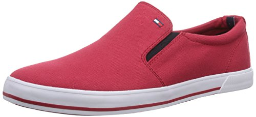 Tommy Hilfiger HARRY 2D, Scarpe chiuse uomo Rosso (Rot (TANGO RED 611))