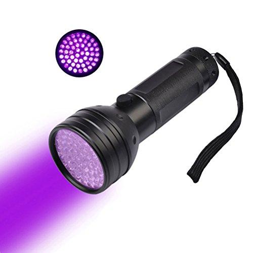 UEETEK UV 51LED Linterna Luz Negra Ultravioleta 395nm