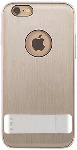 Moshi 99MO079202 iGlaze Kameleon Coque rigide design avec pied pour iPhone 6 Titanium