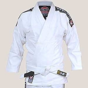 Valor Kimono Bravura de Jiu-jitsu br/ésilien bleu marine avec ceinture blanche incluse