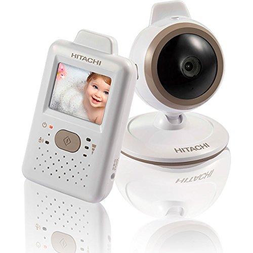Hitachi Baby Monitor with Night Vision, White