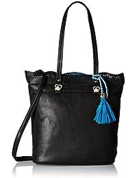 Gussaci Italy Women's Handbag (Black) (GUS201)