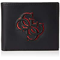 GUESS Men's Wallet with Coin Pocket, Black - 31GUE13143