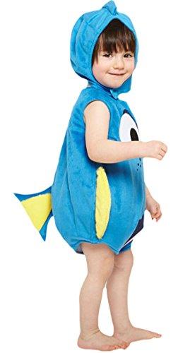 Kostüme Nemo Und Halloween Dory (Confettery - Baby Finding Dory Nemo Kostüm Karneval , Blau, Größe 80-86, 12-18)