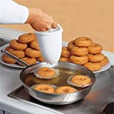TAOtTAO molde de plástico para máquina de hacer donut, herramienta de bricolaje para cocina, repostería, hornear