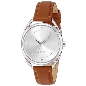 Esprit damenuhren lederarmband  Esprit Damenuhr Lederarmband Braun – 24Uhren