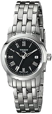 Tissot CLASSIC DREAM T0332101105300 - Reloj de mujer de cuarzo, correa de acero inoxidable color gris