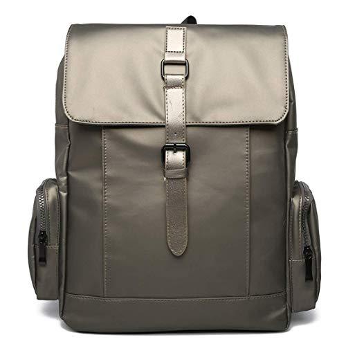 WENYAO Freizeitmode für Männer und Frauen Rucksack mit großer Kapazität Outdoor-Reiserucksack Silber