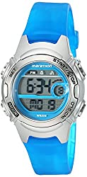 Timex Womens Marathon Quartz Resin Running Watch, Color:Blue (Model: TW5K96900M6)
