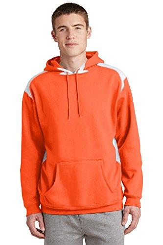 Sport-Tek -  Felpa con cappuccio  - Uomo Arancione - arancione