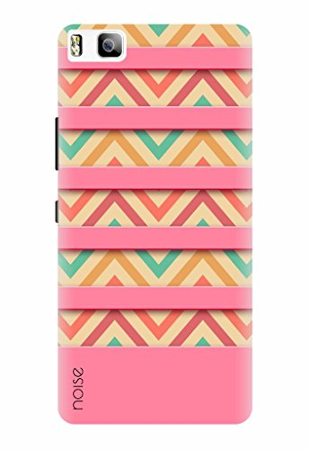 Noise Designer Printed Case / Cover for Huawei P8 Lite / Patterns & Ethnic / Pink Stripes