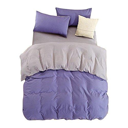 Verde Anti - allergico Bedding colore puro 4 pezzi , a , 2.2m bed