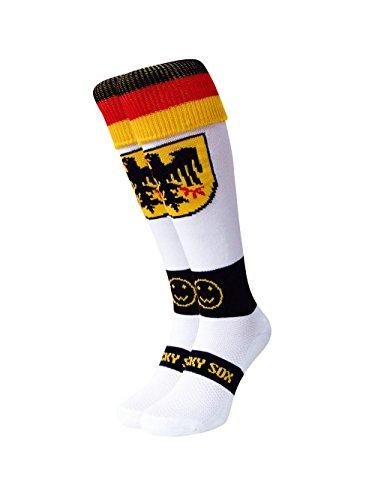 WackySox Deutschland Sport-Socken Adult Shoe Size 7-11