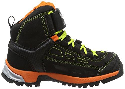 Salewa Unisex Baby Jr Alp Player Mid Gtx Sneaker Schwarz (Black Out/Holland 8668)