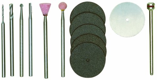 Proxxon Werkzeugsatz für Modellbauer 13-teilig, 1 Stück, silber/grün/rosa/weiß/dunkelgrau, 28910