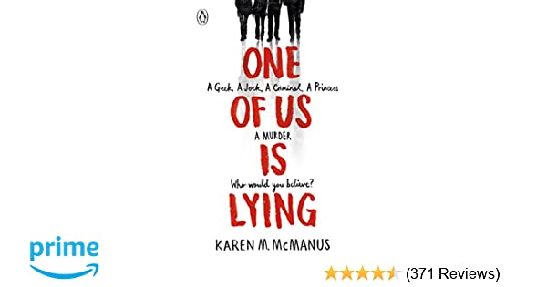 One Of Us Is Lying: Amazon co uk: Karen McManus: Books