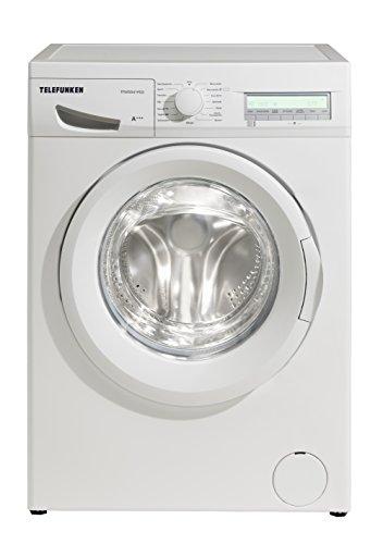 Telefunken TFW5541FD3 Waschmaschine Frontlader / A+++ / 194 kWh/Jahr / 1400 UpM / 8 kg / 10224 L/Jahr / Startzeitvorwahl / weiß