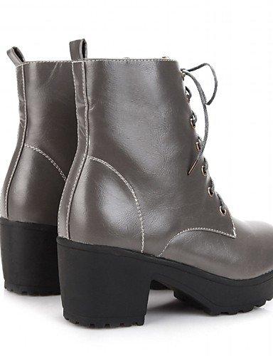 ShangYi Mode Frauen Schuhe Damen Schuhe Frühjahr / Herbst / WinterHeels / Reitstiefel / Mode / Schuhe / Stiefel Stiefel Motorrad / Bekämpfung Braun