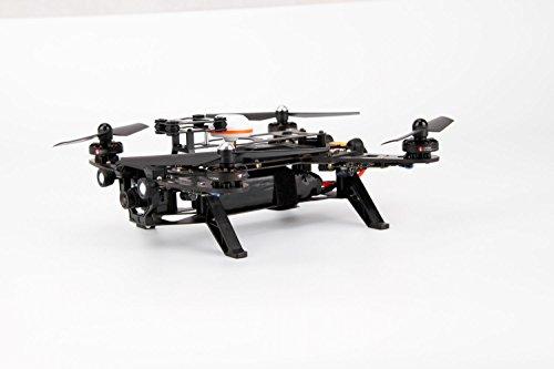 XciteRC 15003600 - FPV Racing-Quadrocopter Runner 250 RTF - FPV-Drohne mit HD Kamera, Akku, Ladegerät und Devo 7 Fernsteuerung - 3