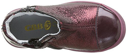 GBB Nanon, Bottes Chelsea Fille Rouge (36 Vnv Bordo Dpf/2813)