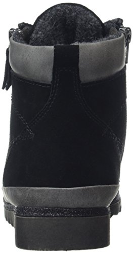 Jana 25207, Bottes Rangers Femme Noir (Black)