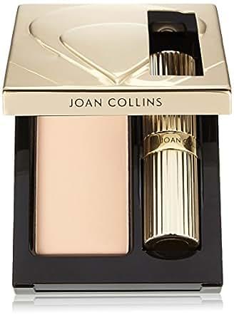 Joan Collins Timeless Beauty Compact Duo Lipstick and Powder, Amanda