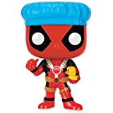 "Figura Cabezón Movible Marvel Pop! Vinyl ""Deadpool con gorro de baño y pato de goma"""