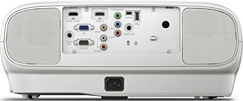 Bild 64: Epson EH-TW6100 3D Heimkino 3LCD-Projektor (Full HD 1080p, 2.300 Lumen Weiß & Farbhelligkeit, 40.000:1 Kontrast, 2x HDMI (1x MHL), inkl. 1x 3D Brille) schwarz