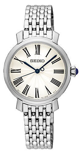 Seiko Analog White Dial Women's Watch - SRZ495P1