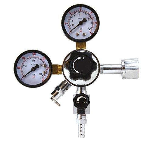 Soda-keg (CO2-Regulator für Bier und Soda Keg und Dosiersystem-cga-320-mit Relief und Absperrventil)