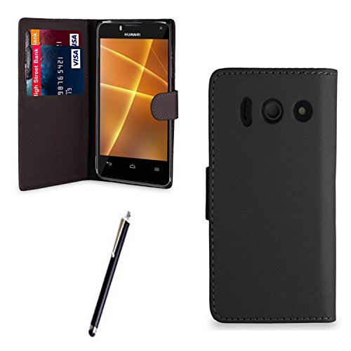 gr8value-huawei-ascend-y300-pu-leather-wallet-flip-case-cover-pouch-free-stylus-pen-black-book-case