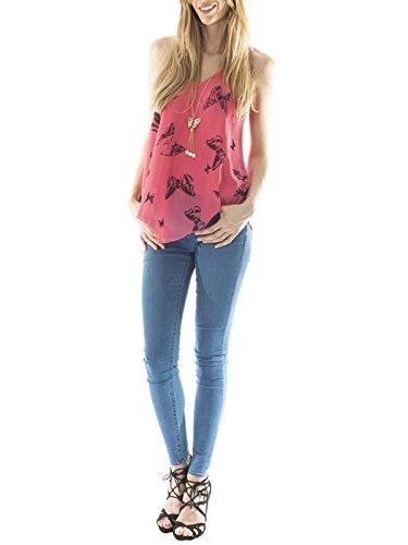 Love My Fashions -  Maglia a manica lunga  - Donna Fuchsia Pink