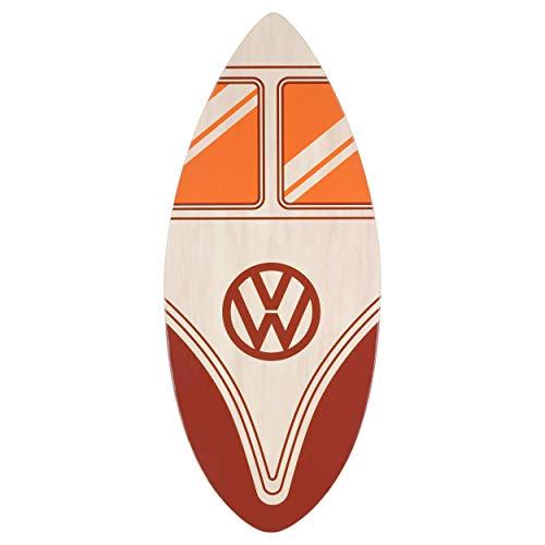Board Masters Volkswagen Skimboard, VW 41 Zoll (104 cm) 7-lagiges Skimboard aus Holz, in Mehreren Ausführungen