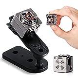 Mini Telecamera Spia,1080P Portatile Senza Fili Telecamera Nascosta con Visione Notturna Microcamere Spia con Rilevamento del Movimento Videocamera Sorveglianza WiFi per Esterno/Interno