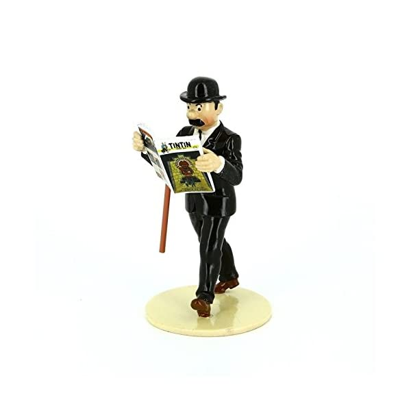 PIXI Figura Moulinsart de colección Hernández Lisez Tintin 46303 (2016) 1