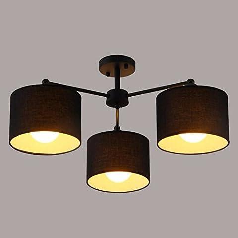 yxhflo Tissu moderne et minimaliste lustre couvreL'étude chambre salon éclairage