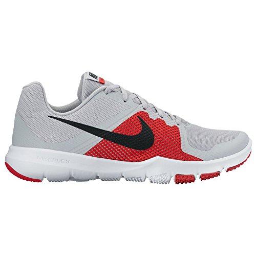 Nike Herren Flex Control Hallenschuhe Pure Platinum/Black/University Red/White