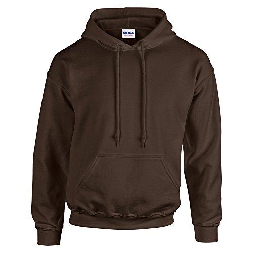 Gildan HeavyBlend, hooded sweatshirt XXL,Dark Chocolate Chocolate Hooded Sweatshirt Hoodie