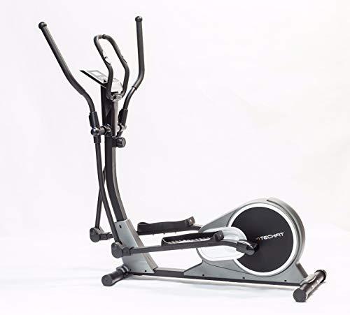 TechFit E500 Cross Trainer, Cyclette Ellittica per la casa, la perdita di peso Macchina per Cardio ed Esercizi di Fitness, Dispositivo di Resistenza Magnetica adatta per spazi interni