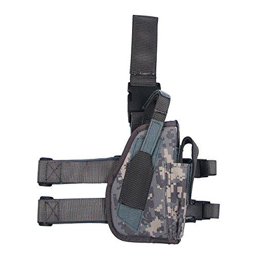 Pistolenbeinholster, AT-digital, Bein- und Gürtelbefestigung, rechts -
