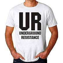 BakoIsland UR Underground Resistance Camiseta para Hombres Large c182e66a50c