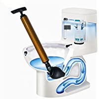WGE Druck-Toiletten-Bagger-Gerät/Rohrstangen-Wannen-Abfluss-Reiniger-Werkzeug/Luft Angetriebene Toiletten-Kolben-Toiletten-Blockierpipeline-Baggergerät