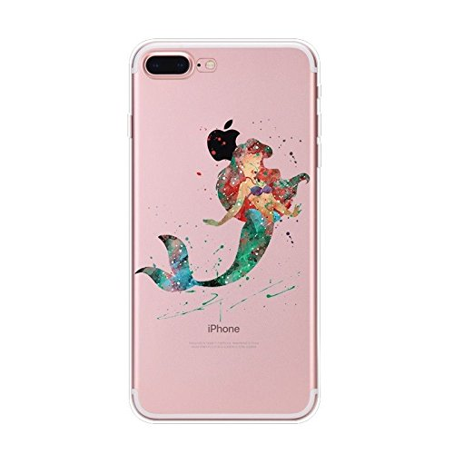 Disney Schloss Schutzhülle Appel Iphone Serie TPU transparent Silikon Case Appel Iphone Cartoon Hülle -AcAccessoires (Iphone 6/6S, #0089) #0090