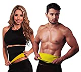 #2: Hot Shapers Sweat Waist Trimmer Fat Burner Belly Tummy Yoga Wrap Black Exercise Body Slimming Belt