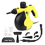 MLMLANT Handheld Pressurized Steam Cleaner with 11-Piece Accessory Set 350ML Big Capacity- Multi-Purpose